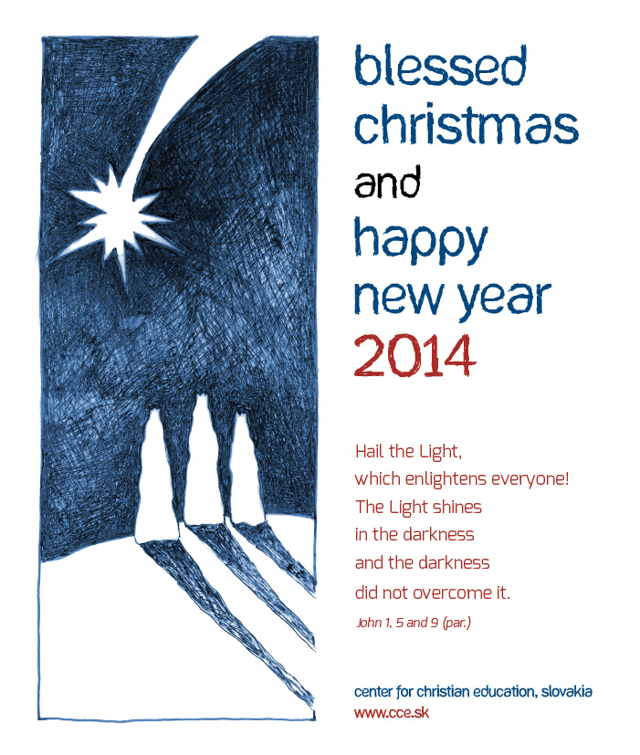Blessed christmas and happy new year 2014 center for christian this voltagebd Image collections